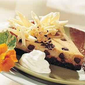 Mocha Ricotta Pie
