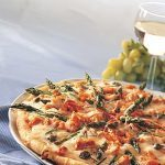 Pizza with Salmon and Asparagus