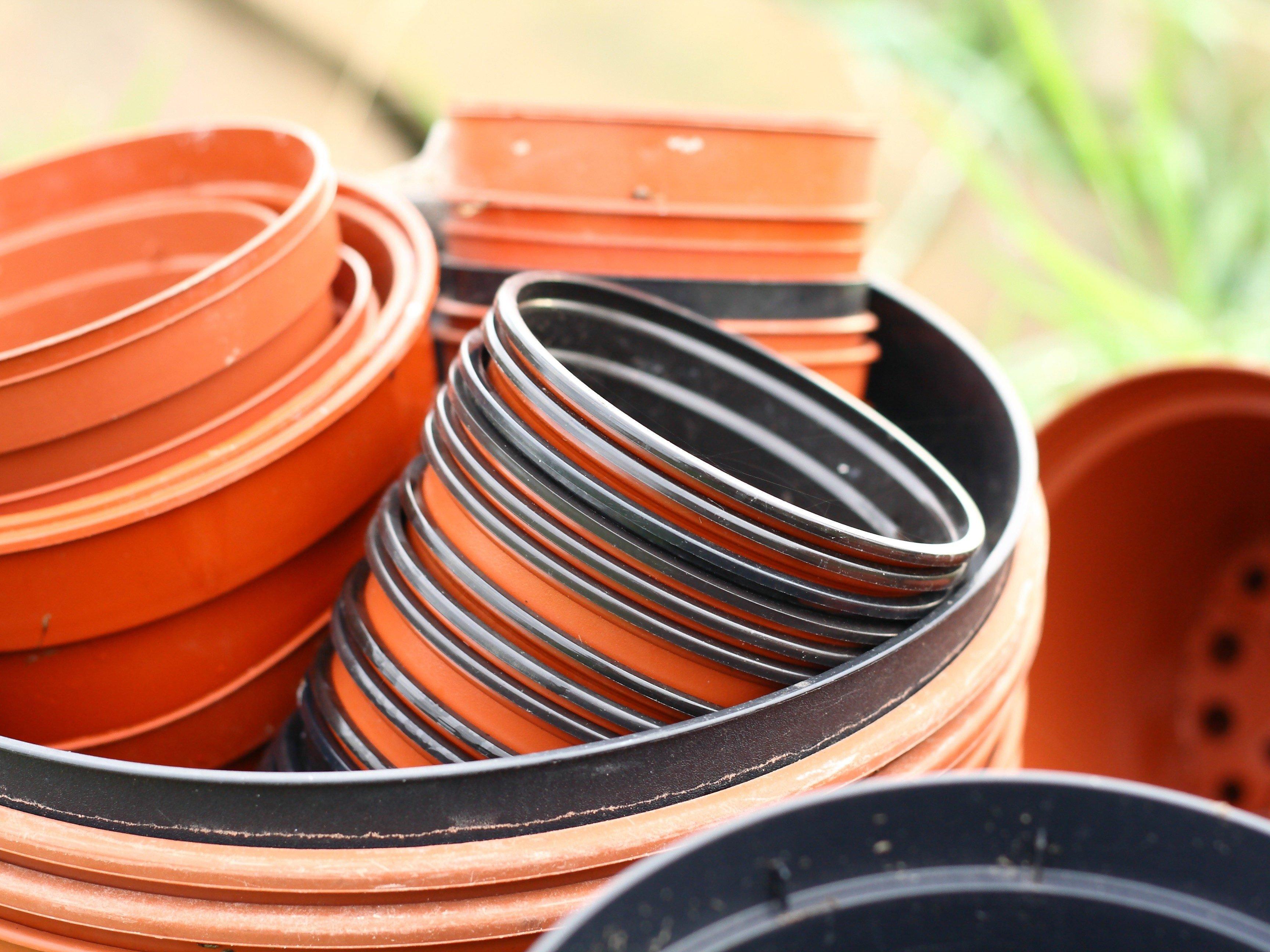 6. Pick Plastic Plant Pots