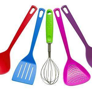 1. Clean Plastic Utensils