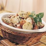 Red Potatoes With Two Cheeses