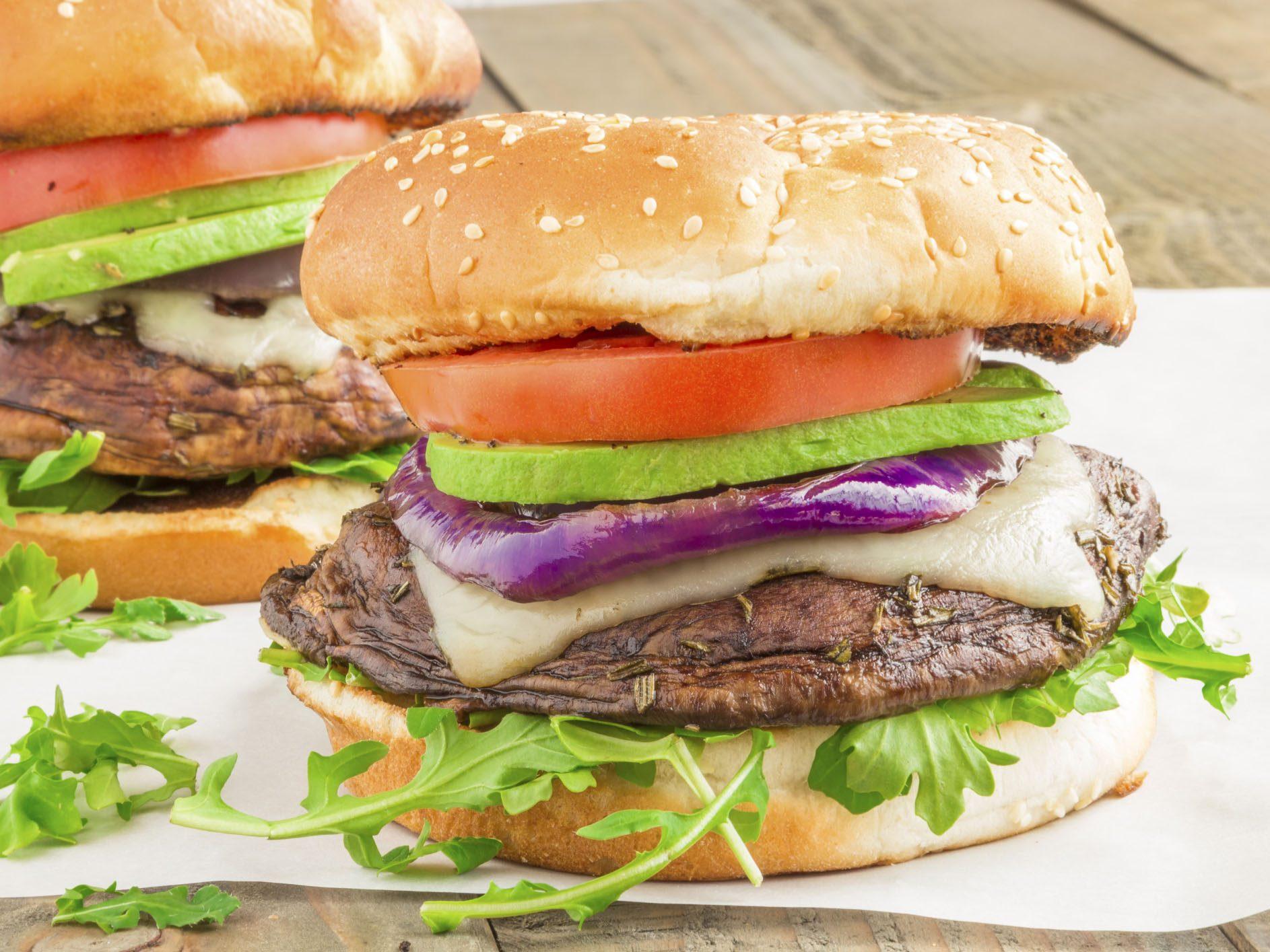 Recipe: Portobello Mushroom Burgers