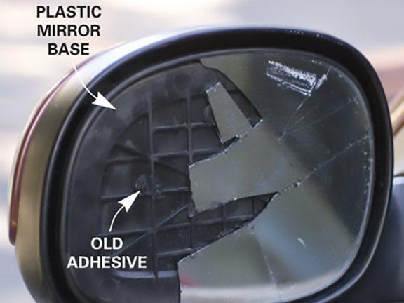 Prep Your Car's Broken Side Mirror