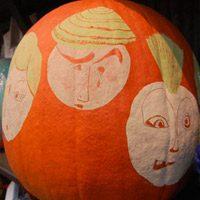 Disguise a Pumpkin Project: Pretty in Pumpkin