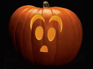 Pumpkin Pattern #3: Casper the Friendly Ghost