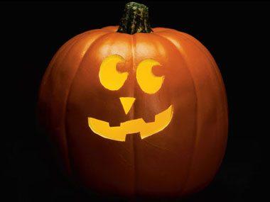 Pumpkin Pattern #7: Lopsided Grin