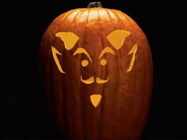 Pumpkin Pattern #8: Devil-May-Care