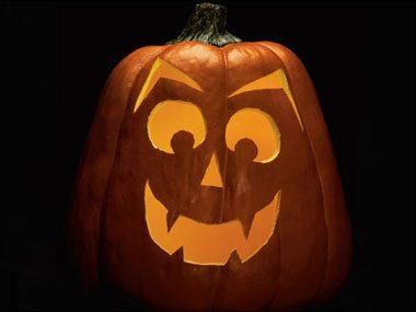 Pumpkin Pattern #11: Death's Head