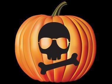 Pumpkin Pattern #19: Skull