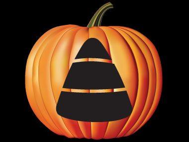 Pumpkin Pattern #23: Candy Corn