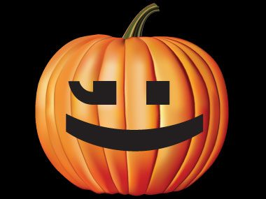 Pumpkin Pattern #13: Wink Wink!