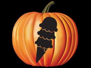 Pumpkin Pattern #20: Sweet Ice Cream