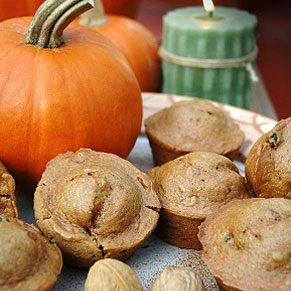 Pumpkin Walnut Muffins