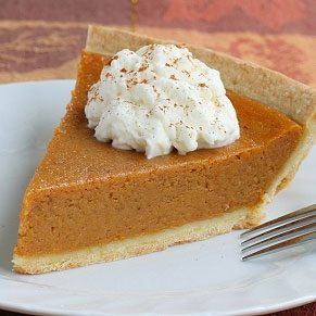 Spicy Pumpkin Chiffon Pie