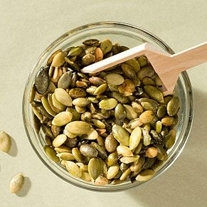 Spicy Peanuts and Pumpkin Seeds