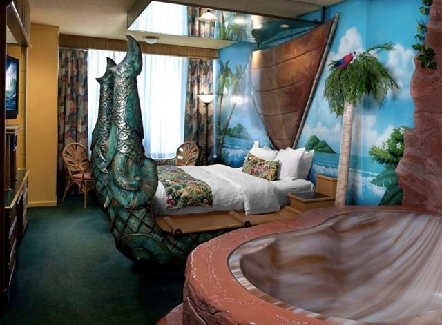 Fantasyland Hotel - Edmonton, Alberta