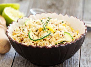 Quinoa With Chiles and Cilantro