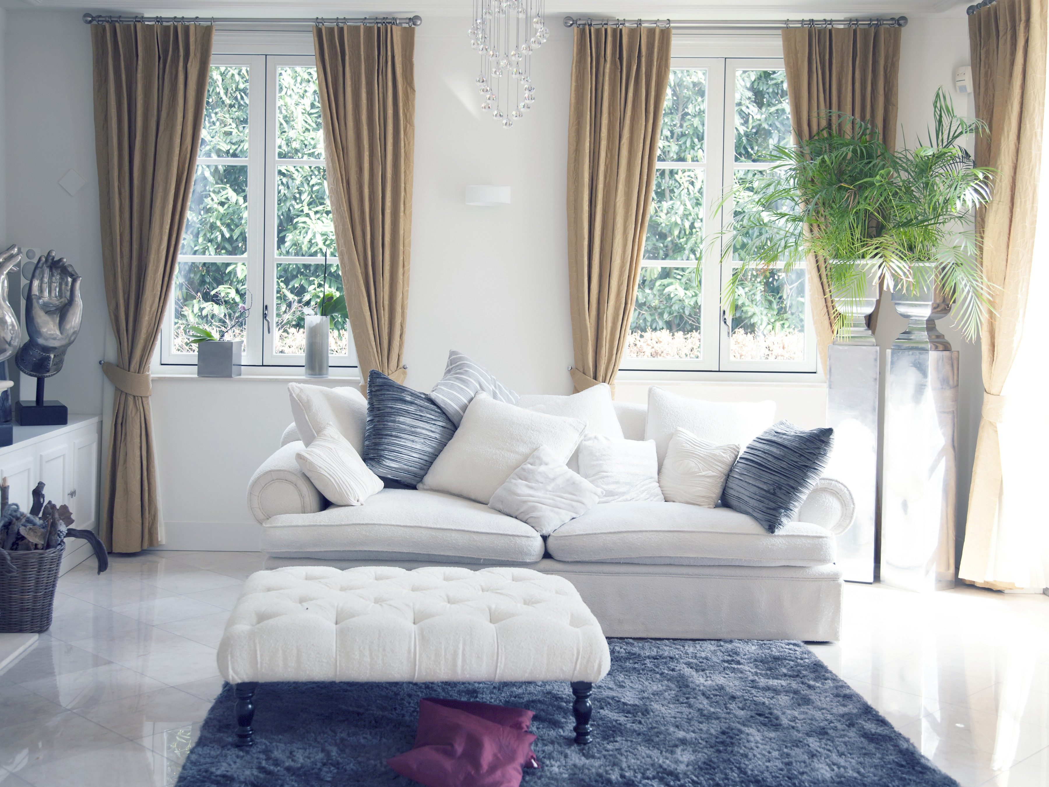 2. Rearrange the Family Room Furniture