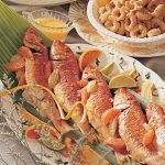 Red Snapper With Citrus Fruit and Basil