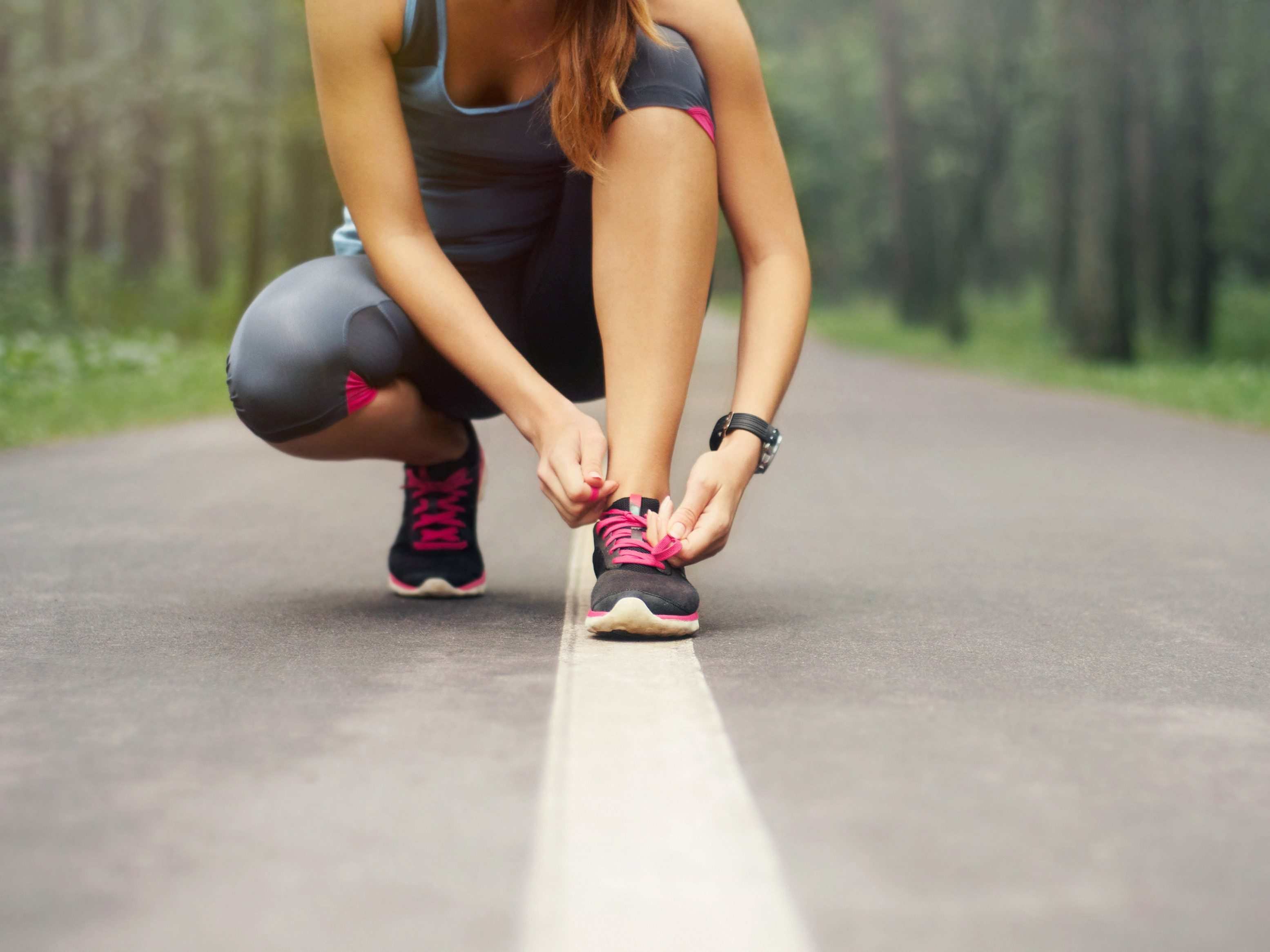 Exercise to prevent stress-a known trigger for shingles.