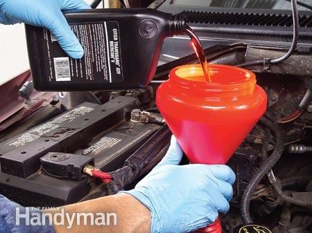 In Detail: Refilling with New Transmission Fluid