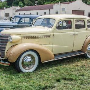 My first car - 1938 sedan