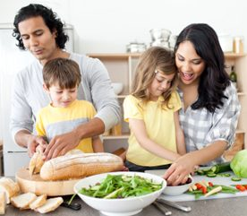 8 Steps to Healthy Family Meals