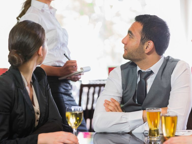 11. How to handle a problem when dining out.
