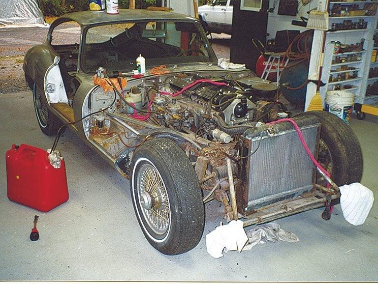 The art of auto restoration
