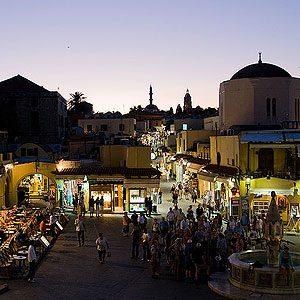 4. Rhodes Old Town