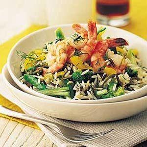 Fall Rice Recipes: Shrimp and Rice