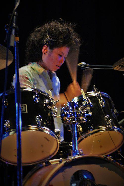 Local band Isobel Trigger at Rifflandia