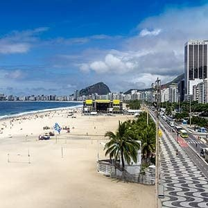 7. Copacabana Beach, Rio de Janeiro