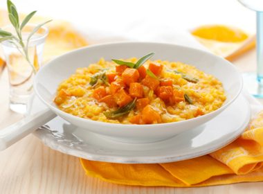 Risotto With Winter Squash and Sage