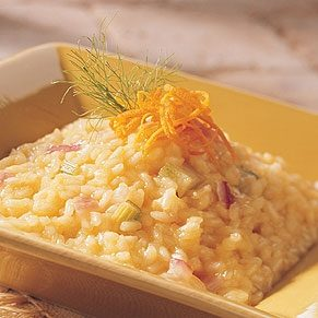 Fennel-Onion-Orange Risotto