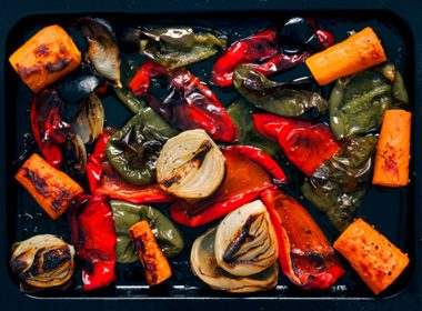 Roasted Root Vegetables With Maple Balsamic Dressing
