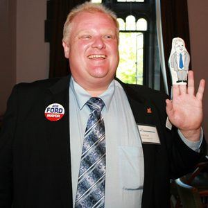 1. Rob Ford - Toronto, Ontario