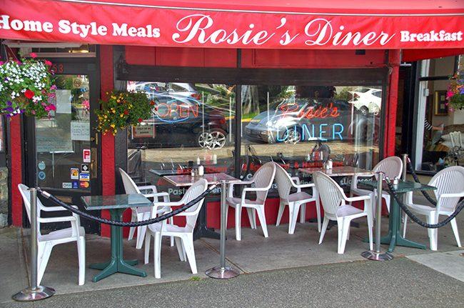 Rosie's Diner Patio