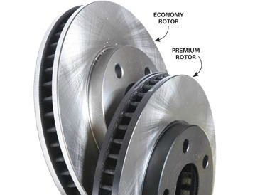 Brake Job Rip-Off #4: Getting inferior rotors for premium prices