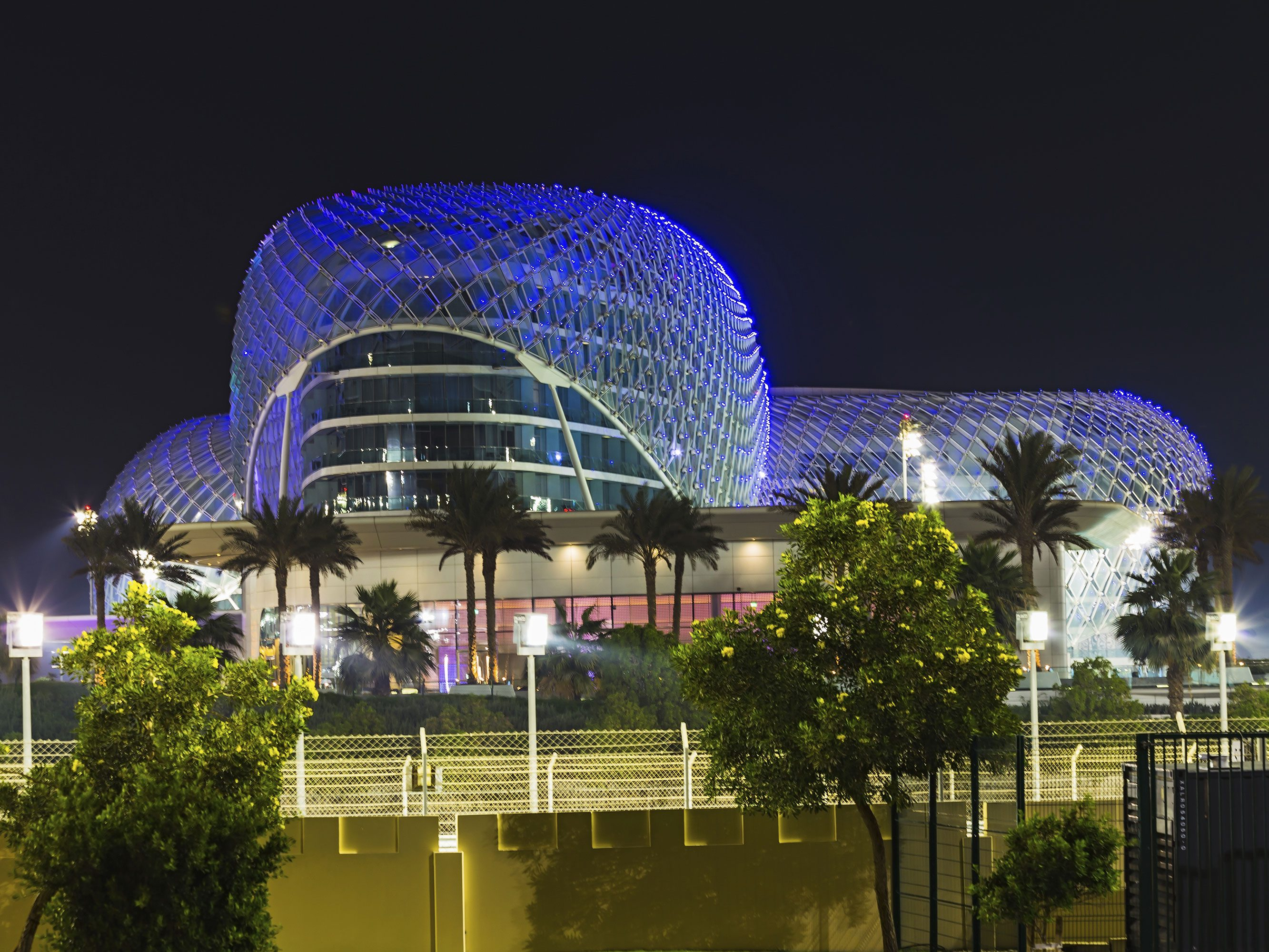 Riding the Formula Rossa in Abu Dhabi