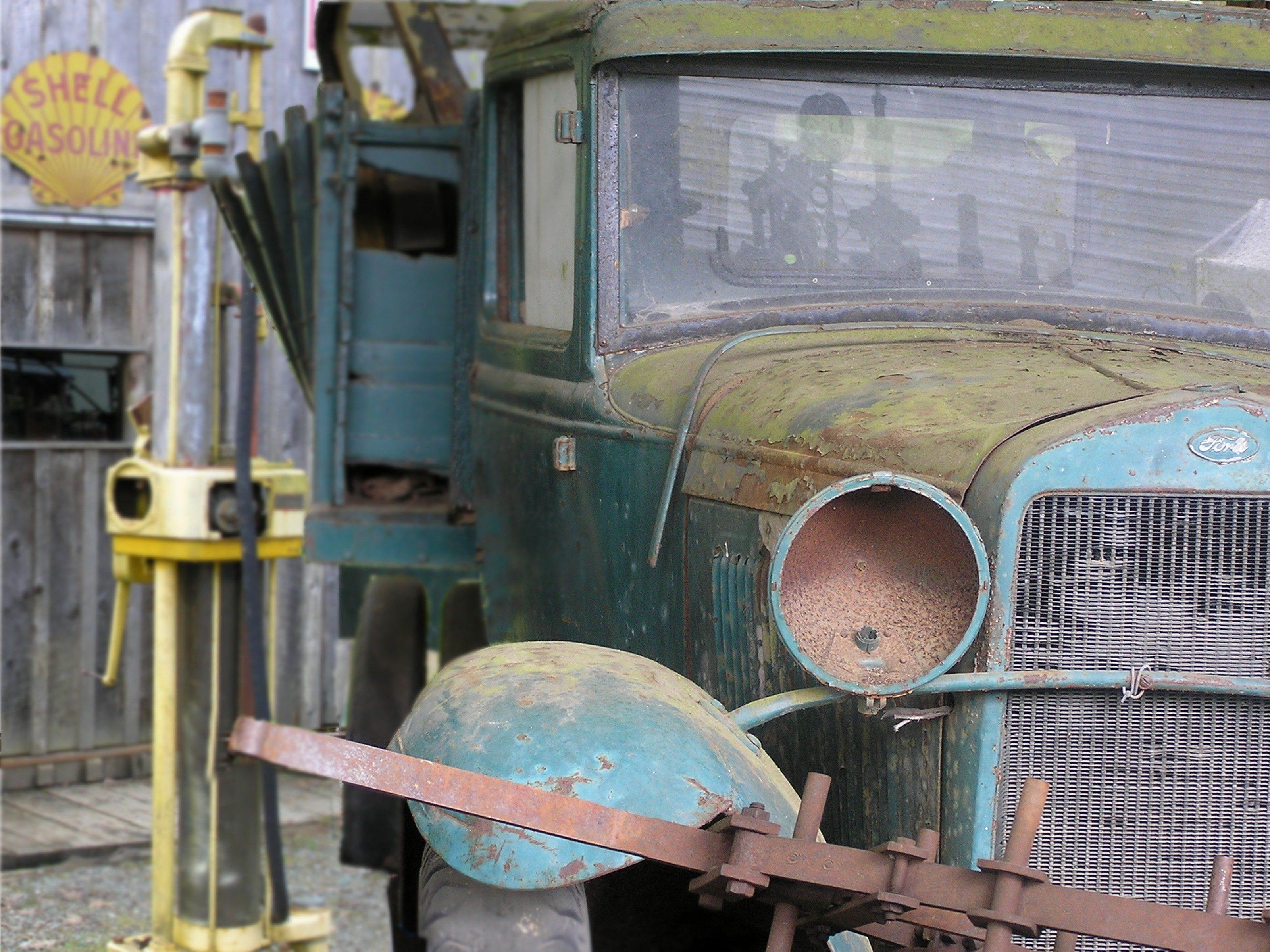 Rustic ride