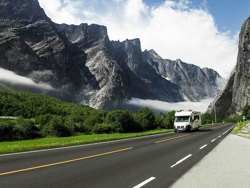 4. Be aware of handling differences when driving an RV.