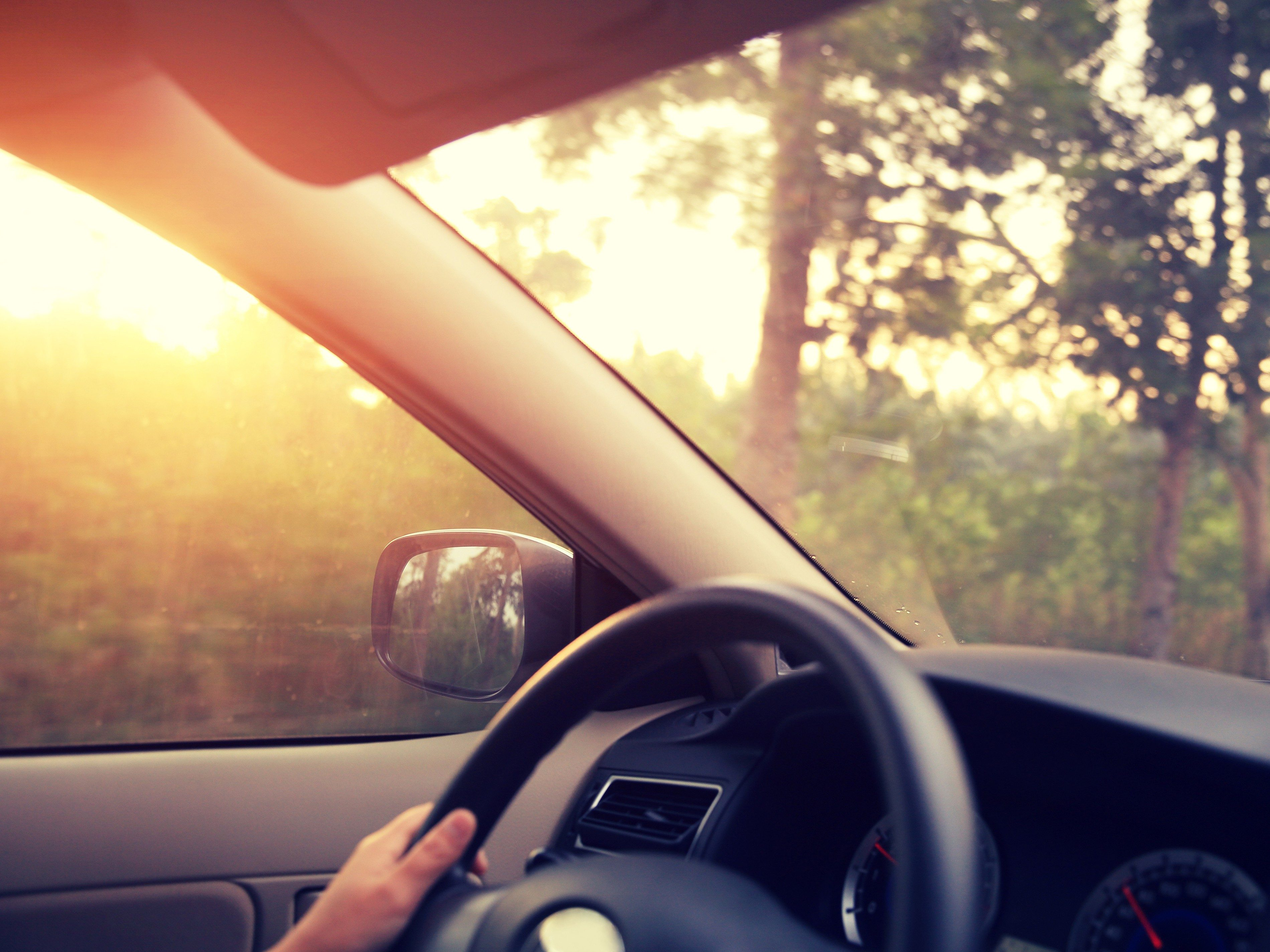 Driving tip #1: Leave early.