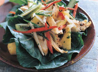 Jamaican Jerked Chicken Salad