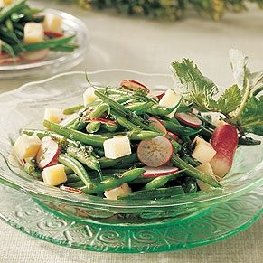 Green Beans Salad with Havarti