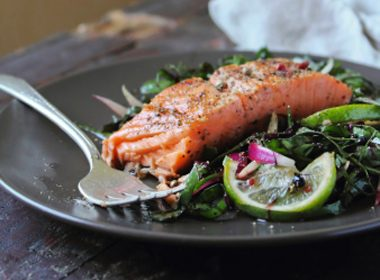 Honey Balsamic Salmon Fillets