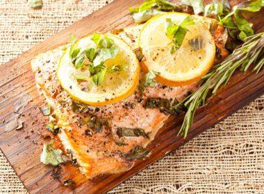 Roast Lemon Herb Salmon
