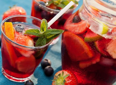 Double Red Sangria