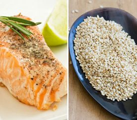 Reduce PMS Symptoms by Pairing Up Salmon and Sesame Seeds