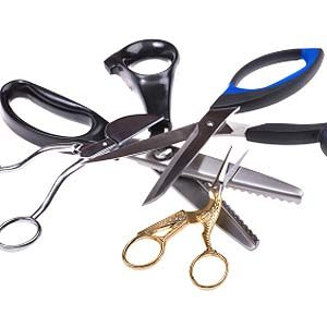 Things you can bring on a plane in Canada: Scissors, Nail Files and Cuticle Cutters